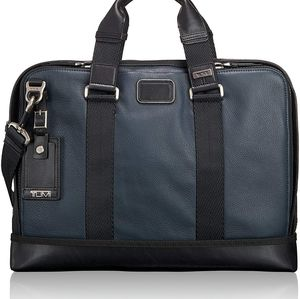 Tumi Alpha bravo 2 andrews slim laptop bag
